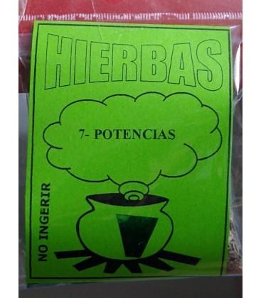 Hierbas, 7 potencias,