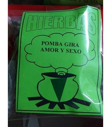 Venta de Hierba, Pomba Gira, al mayor