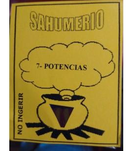 Sahumerio 7- potencias