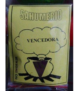 Sahumerio, Vencedora
