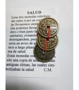 Salud, amuleto con instrucciones