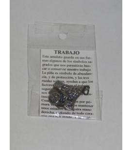 Trabajo, amuleto con instrucciones