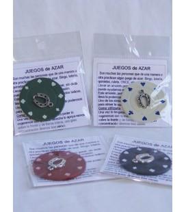 Juegos de azar, amuleto con instrucciones
