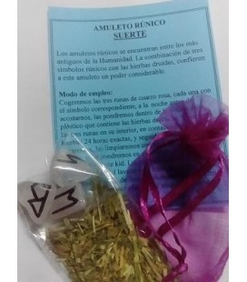 Amuleto rúnico suerte