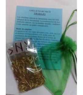Amuleto rúnico trabajo
