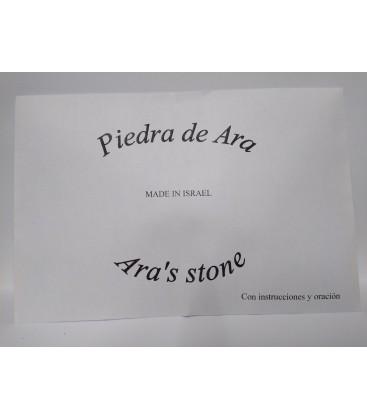 Piedra de Ara amuleto con instrucciones y oración al por mayor