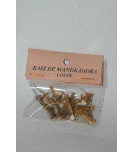 Raíz de mandrágora 'coupé'
