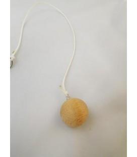 Péndulo bola madera de ulano pequeño, con cordon