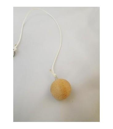 Venta de Péndulo bola madera de ulano pequeño, con cordon al mayor