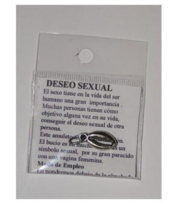 Venta de Deseo sexual, amuleto con instrucciones al mayor