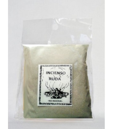 Venta de Incienso ruda en polvo ( 45 gr aprx ) al mayor