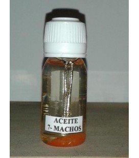 Aceite esotérico 7 machos (pequeño)