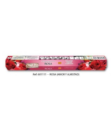 Venta de Incienso rosa varillas, 20 stick ( amor y amistad ) al mayor