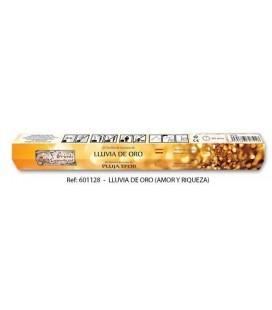 Incienso lluvia de oro varillas, 20 stick ( amor y riqueza )