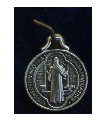 Medalla san Benito, 1,70 cm de diámetro,