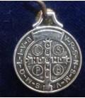 """Medalla san Benito - 1,70 cm de diámetro \\""""bolsa de 6 UNIDADES\\"""" sin manipulación al por mayor"""