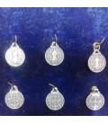"""Venta de Medalla san Benito - 1,70 cm de diámetro \\""""bolsa de 6 UNIDADES\\"""" sin manipulación al mayor"""