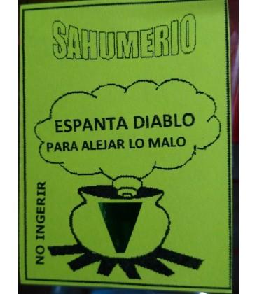 Venta de Sahumerio Espanta diablo ( para alejar lo malo) al mayor