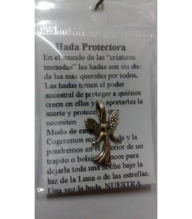 Hada protectora ,2 cm x 1,5 cm ( colgante con instrucciones )