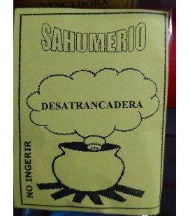 Sahumerio, Desatrancadera