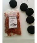 Venta de Sándalo rojo, ( 30 gr aprx ) AGOTADO con 5 carbones instantáneos Kid al mayor