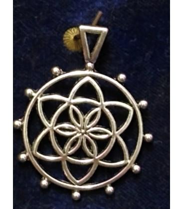 Amuleto Flor de la vida Semilla