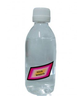 Agua bendita grande (250 ml.)