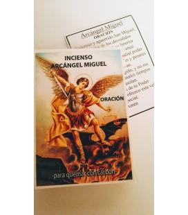 Incienso arcangel Miguel