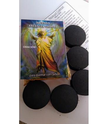 Incienso arcangel/angel Gabriel , con carbón, estampa y oración al por mayor