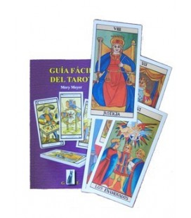 """Pack"" Guia facil del tarot + arcanos mayores 17 x 9 cm + bolsa tarot"