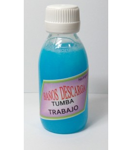 Tumba trabajo, Baño de descarga - 250 ml