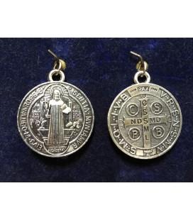 Medalla san Benito, 1,70 cm ( pequeña )