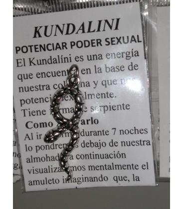 Colgante Kundalini, potencia el poder sexual - 3 x 1,20 cm al por mayor