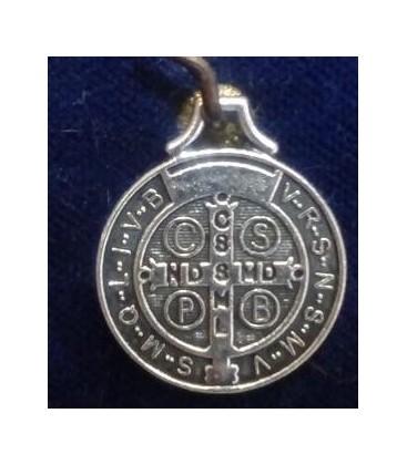 """Medalla San Benito, 2.30 cm \\""""mediana\\"""" (bolsa de 6 UNIDADES sin manipulación ) al por mayor"""